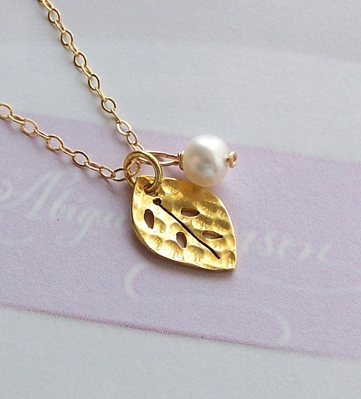 gold page isabelle monies pendant k master leaf products wood necklace and